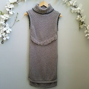 Nomad - Morgan Carper Alpina Grey Knit Tunic